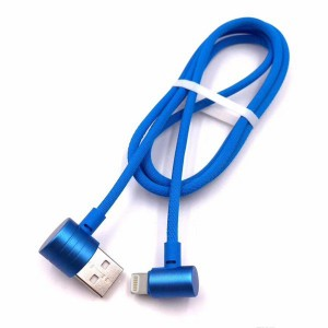 Canvas Coated Quality Fast Apple Iphone Charging Cable
